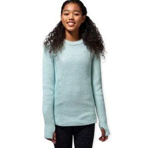 Ivivva By Lululemon Snow Salutations Knit Sweater